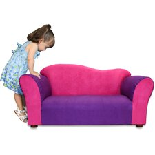 <strong>Fantasy Furniture</strong> Kid's Wave Microsuede Sofa