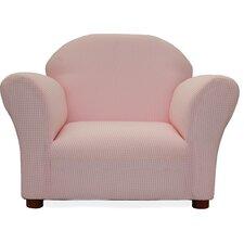 Roundy Ghingham Kid's Club Chair