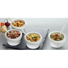 "Luigi Bormioli Slate 9.5"" Nine Piece Serving Set"