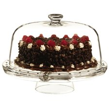 Gallerie Serving Covered Cake Stand