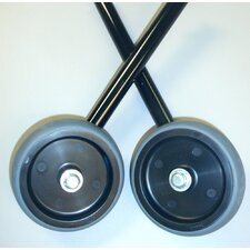 "5"" Wheel Kit for 2137 and 2143 in Black"