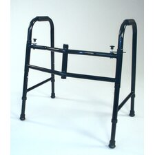 <strong>TFI</strong> Wide Small Folding Walker in Black