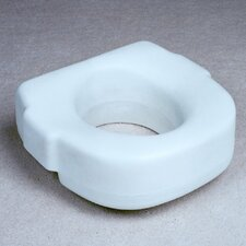 One Piece Blow Molded Raised Toilet Seat