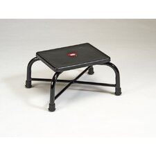 Grand Line Heavy Duty Foot Stool in Black