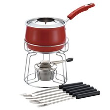 Stainless Steel II 11 Piece 2-qt. Fondue Set