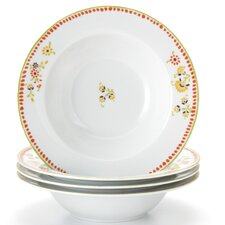 Dinnerware Paisley 12 oz. Soup/Pasta Bowl (Set of 4)