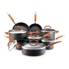 <strong>Rachael Ray</strong> Hard Anodized Nonstick 14-Piece Cookware Set