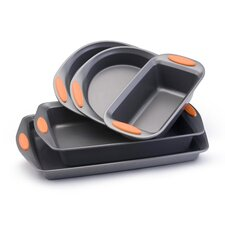 <strong>Rachael Ray</strong> Yum-O Nonstick 5-Piece Bakeware Set