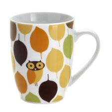 Little Hoot 11 oz. Mugs: Set of (4)