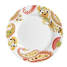 "<strong>Rachael Ray</strong> Paisley 8"" Salad/Dessert Plates: Set of (4)"