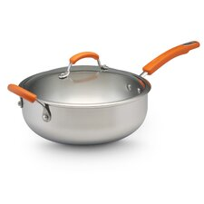 Stainless Steel II 6-qt. Saute Pan with Lid