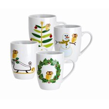 Holiday Hoot 11 oz. Mug