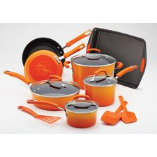 Porcelain II Nonstick 14-Piece Cookware Set