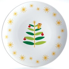 Holiday Hoot Round Platter