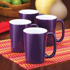 <strong>Rachael Ray</strong> Round and Square 14 oz. Mug (Set of 4)
