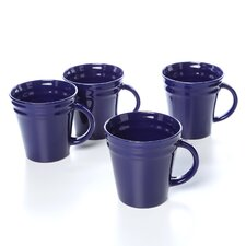 Double Ridge 12 oz. Mugs (Set of 4)