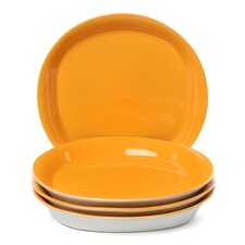 <strong>Rachael Ray</strong> Dinnerware Round and Square Salad Plate (Set of 4)