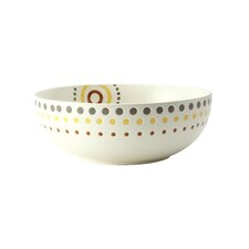 "Circles and Dots 10"" Serving Bowl"