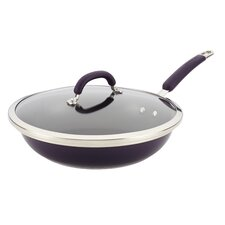 """Stainless Steel Colors 12"""" Non-Stick Skillet"""