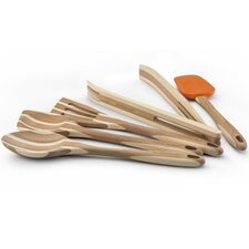 Five Piece Bamboo Tool Set