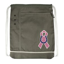 NFL Old School Breast Cancer Awareness Cinch Bag