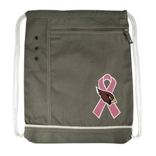 <strong>Little Earth</strong> NFL Old School Breast Cancer Awareness Cinch Bag