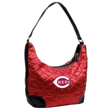 <strong>Little Earth</strong> MLB Quilted Hobo Bag