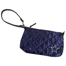 NFL Quilted Wristlet Bag