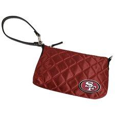 NFL Quilted Wristlet Bag