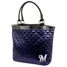 MLB Quilted Tote Bag
