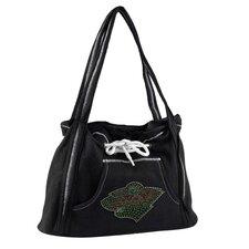 NHL Sport Noir Hoodie Tote Bag
