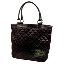 NHL Sport Noir Quilted Tote Bag