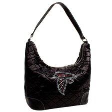 NFL Sport Noir Quilted Hobo Bag