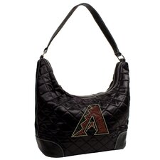 MLB Sport Noir Quilted Hobo Bag