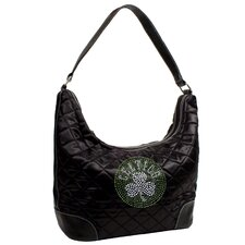 NBA Sport Noir Quilted Hobo Purse