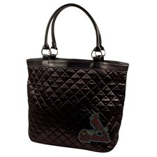 MLB Sport Noir Quilted Tote Bag