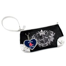 <strong>Little Earth</strong> MLB Sport Luxe Fan Wristlet Bag