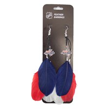 NHL Fan Feather Earrings