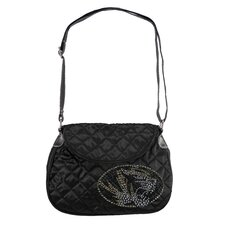 NCAA Sport Noir Quilted Shoulder Bag