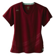 5633 2-Pocket MedFlex II Dual Swirl Top in Merlot