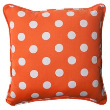 Polka Dot Corded Throw Pillow (Set of 2)