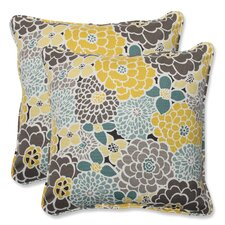Full Bloom Throw Pillow (Set of 2)