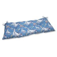 Set Sail Wrought Iron Loveseat Cushion