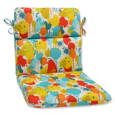 Paint Splash Chair Cushion