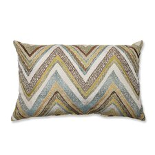 Zig Zag Rectangular Throw Pillow