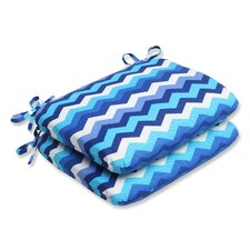 <strong>Pillow Perfect</strong> Panama Wave Seat Cushion (Set of 2)