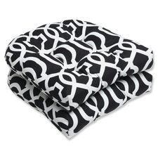 <strong>Pillow Perfect</strong> New Geo Wicker Seat Cushion (Set of 2)