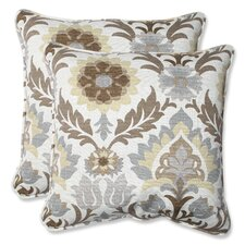 <strong>Pillow Perfect</strong> Santa Maria Throw Pillow (Set of 2)