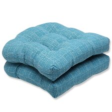 <strong>Pillow Perfect</strong> Conran Wicker Seat Cushion (Set of 2)