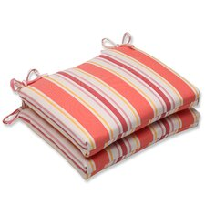 <strong>Pillow Perfect</strong> Cayman Corners Seat Cushion (Set of 2)